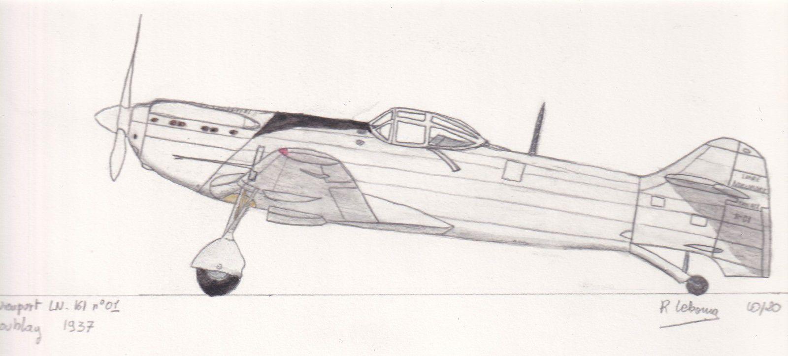 Le programme de 1934 avait également donné naissance au LN-161, de conception plus moderne.