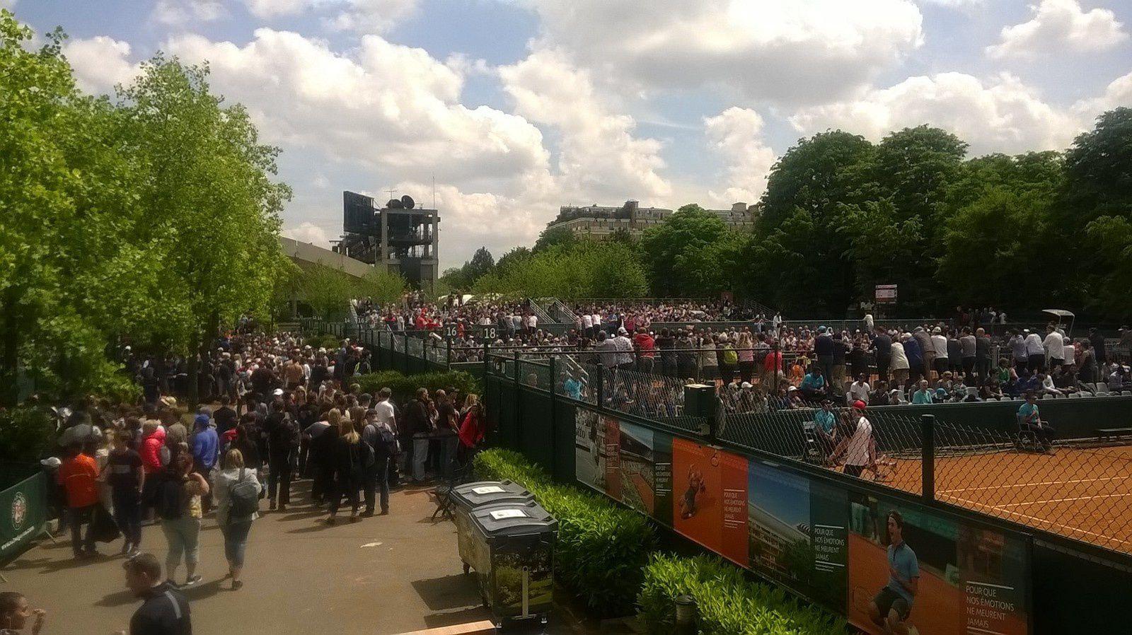 Râle - en Garros