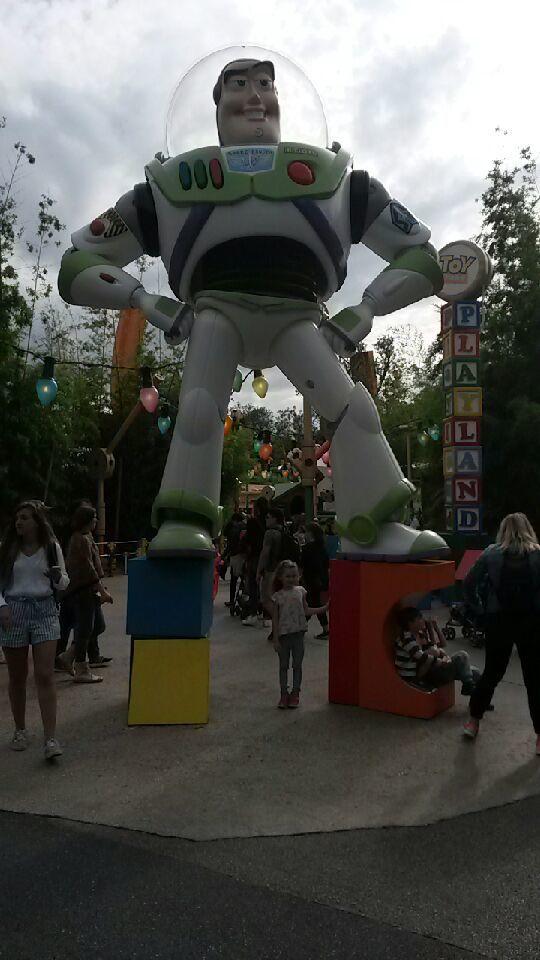 Journée chez Mickey pour Barbouille