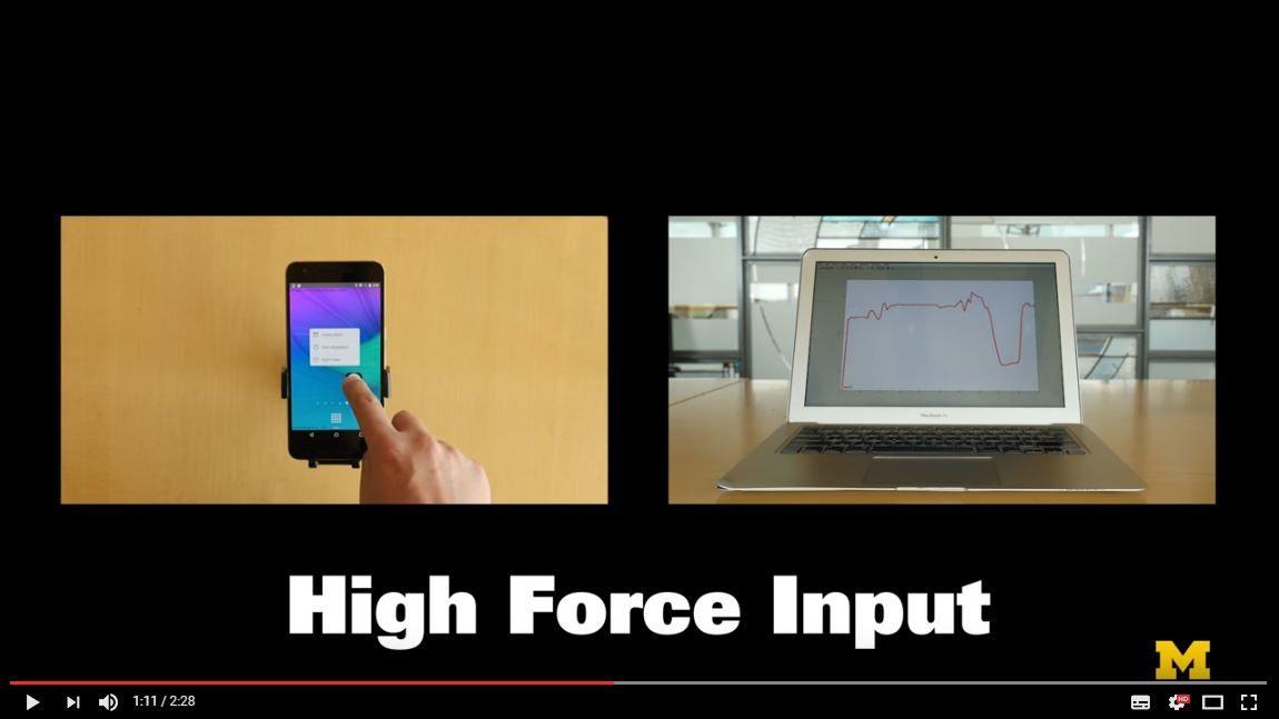 La 3D tactile sera bientot la norme sur tous les terminaux mobiles : la pression exercée pilote ... les interfaces