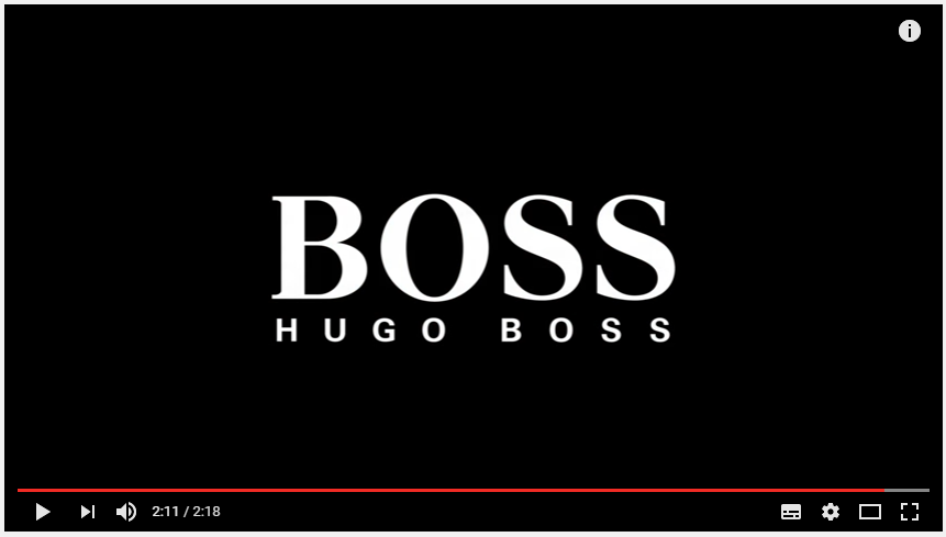 Et à présent le SKY WALK de Alex THOMSON : HUGO BOSS - Marketing des marques