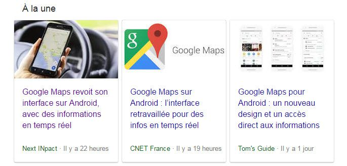google maps nouvelle interface ookawa