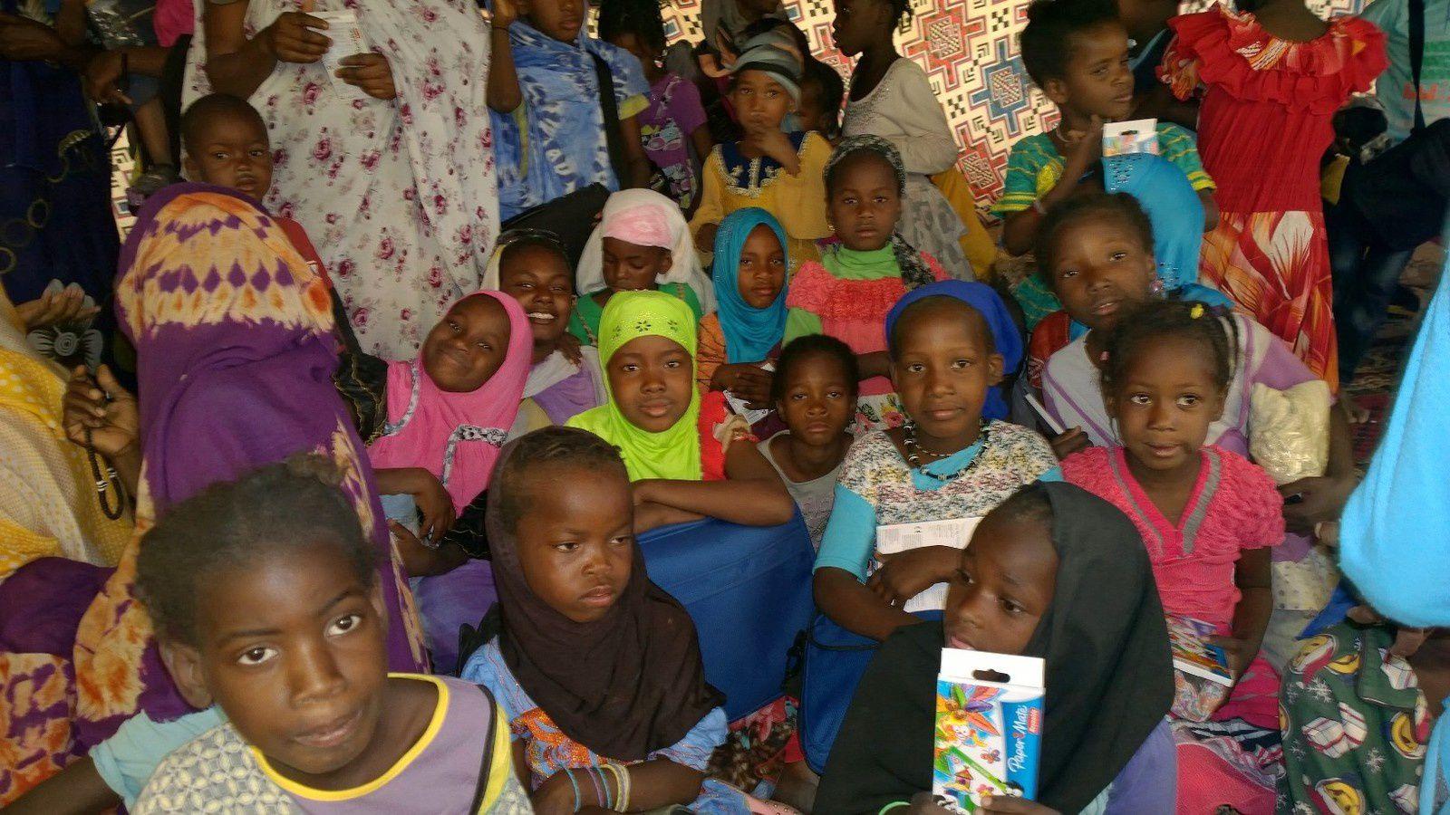 Un petit bonjour de Mauritanie, à l'école de Aminetou