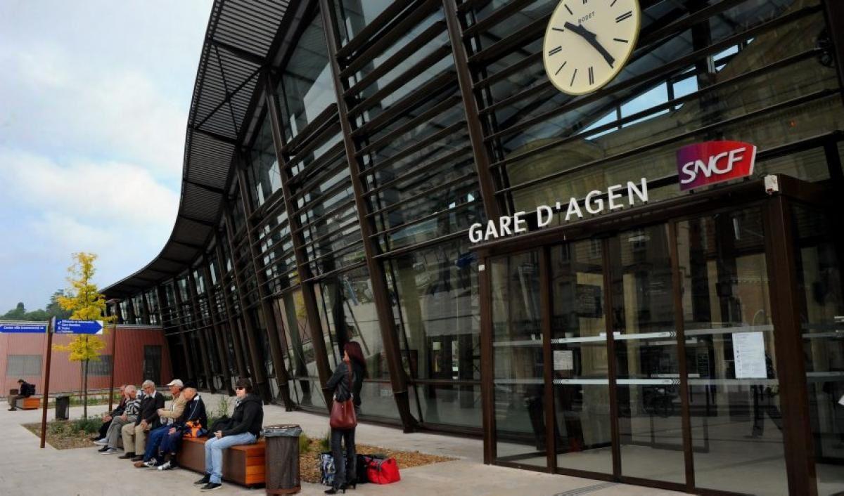 L'Agglomération d'Agen, qui a lourdement investi pour moderniser les abords de la Gare, n'est guère payée de retour...