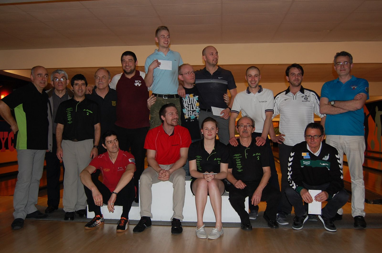 Tournoi Scratch/handicap SAINT BRIEUC - Le résultat final