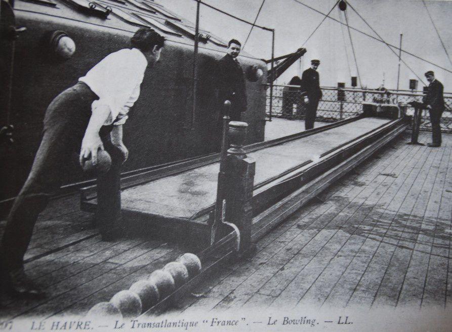 Histoire: Le bowling en France avant 1960.