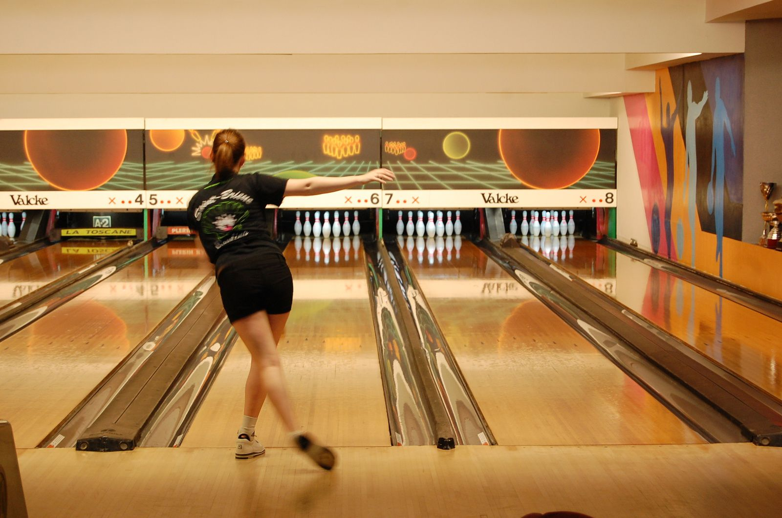 Eva Ménigot du Saint Brieuc Bowling