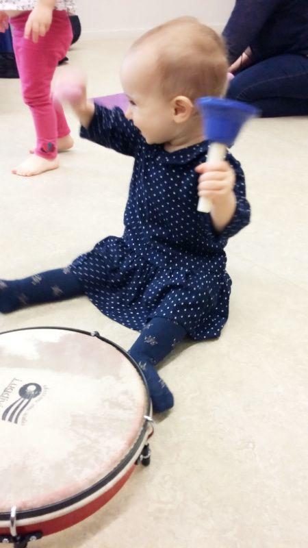 Alice à 9 mois