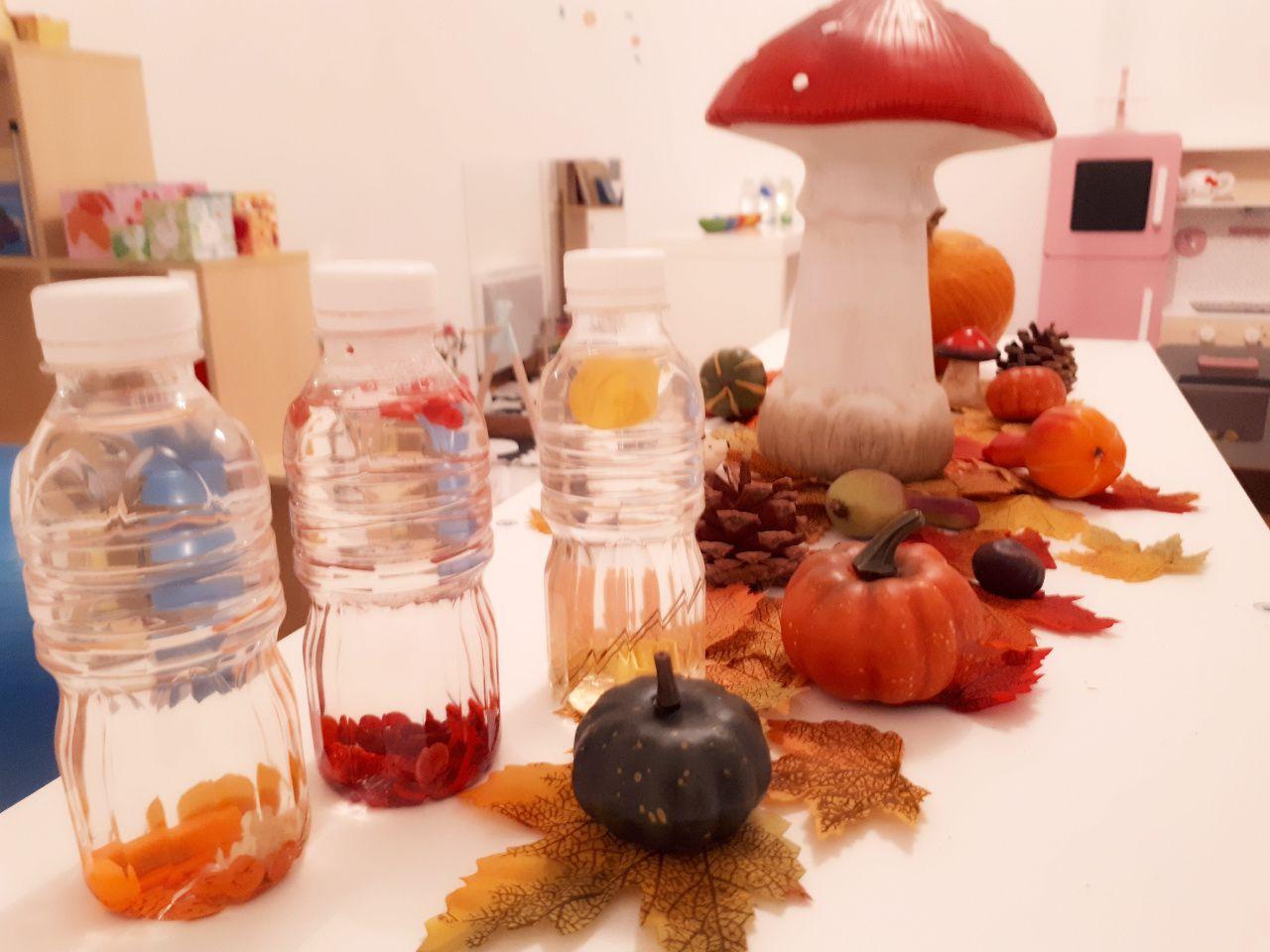 Notre table des saisons sur l'automne inspirée de la pédagogie Steiner