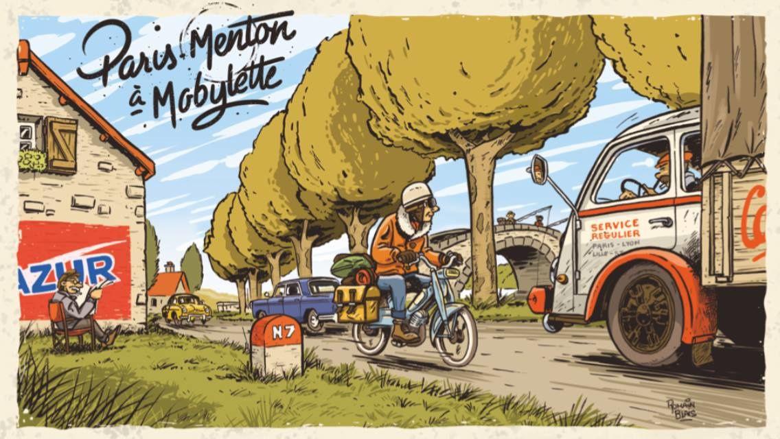 DABEL va donner un coup de pouce mérité à Jérémie qui a l'idée dingue de faire la nationale 7 en Mobylette cet été 2019 ! On attend la carte postale de Menton !