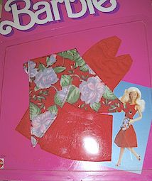 1987 BARBIE CLOTHES