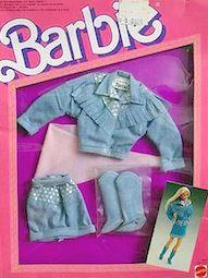 1988 BARBIE CLOTHES