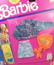 1989 BARBIE CLOTHES