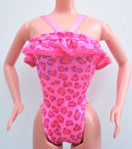 """FLORIDA VACATION"" BARBIE DOLL CLOTHES 1998 MATTEL #20535"