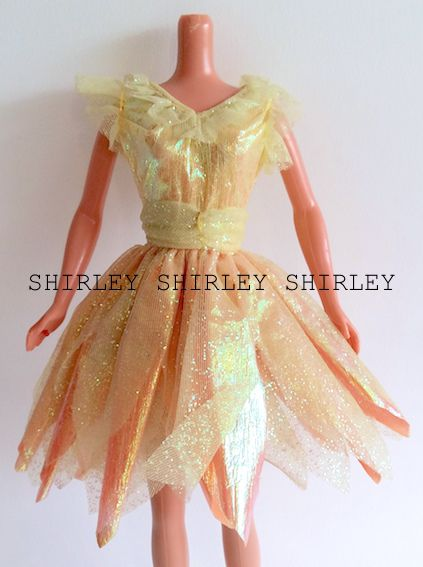 """BUBBLE FAIRY"" TERESA DOLL CLOTHES 1998 MATTEL #22089"