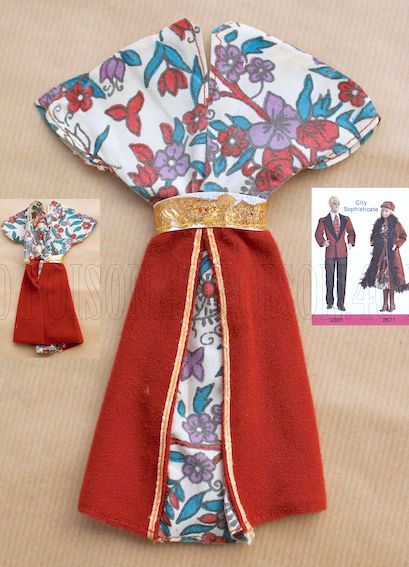 """DESIGNER ORIGINALS FASHIONS"" FOR BARBIE DOLL 1979 MATTEL #2671"