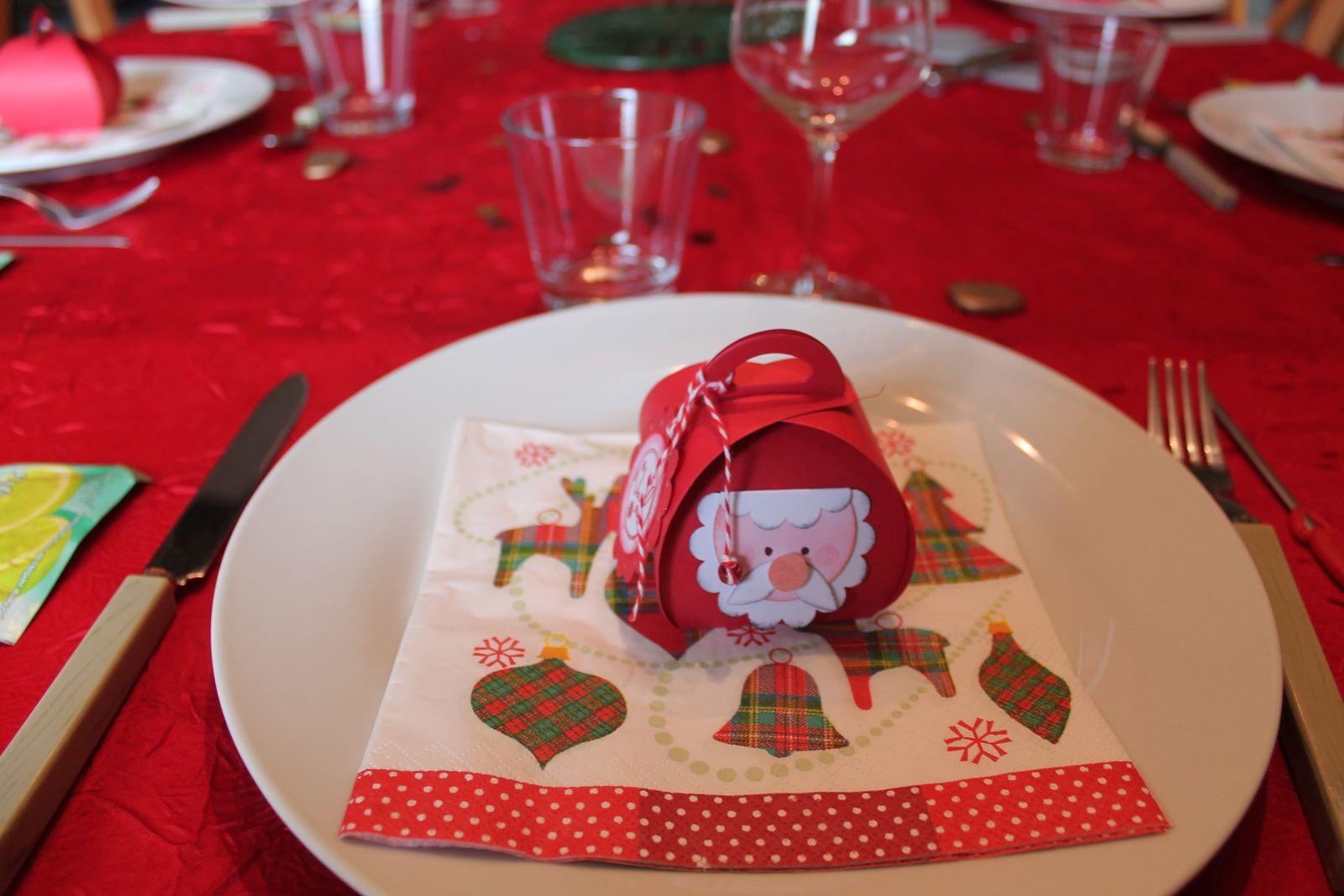 Déco table Noël 2016