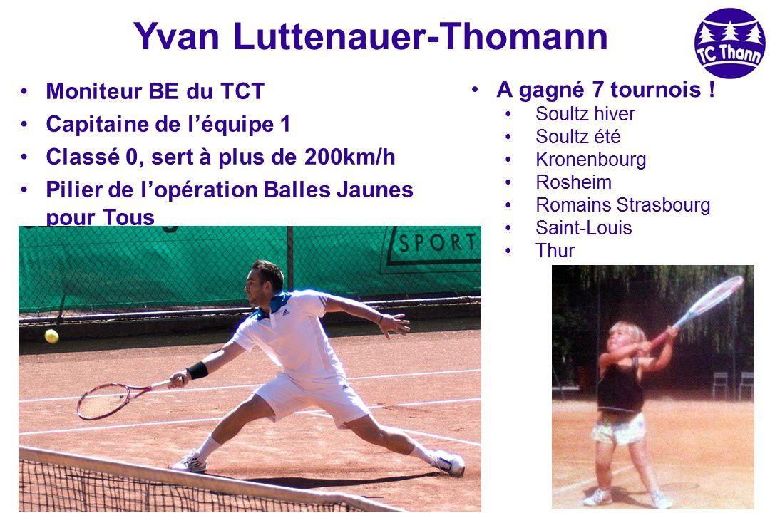 Le TC Thann à l'honneur...
