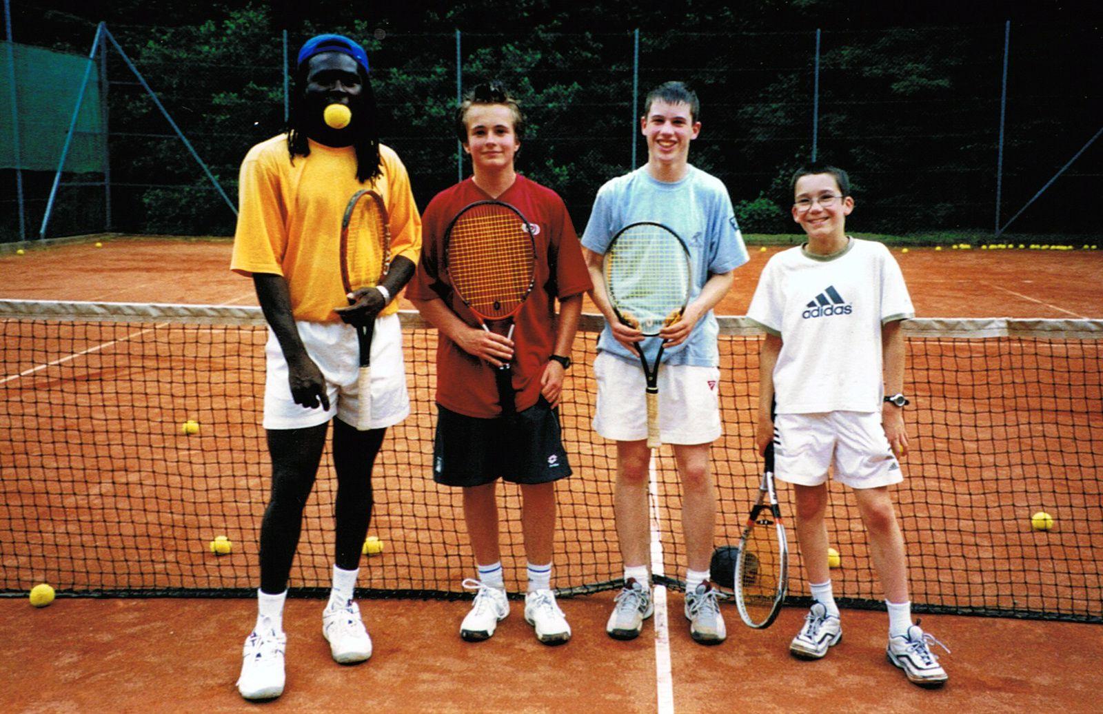 Clément, Yannick, Michael, et.....Philou il y a 14 ans au Floridor !