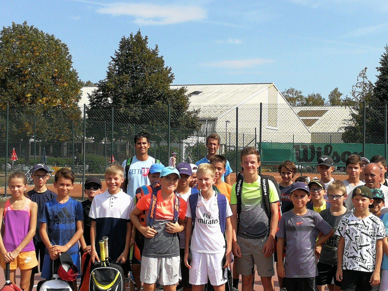 La section tennis en marche !