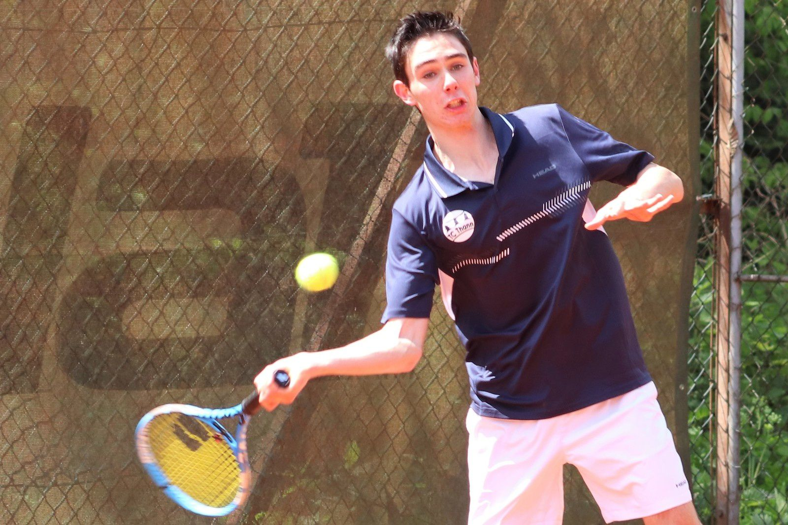 Quelques images en couleur d'un beau week-end de tennis...