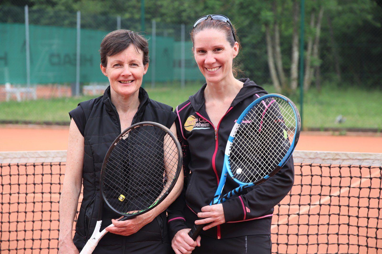 1/2 finale alsacienne : Domi Holl & Aurélie Geissler