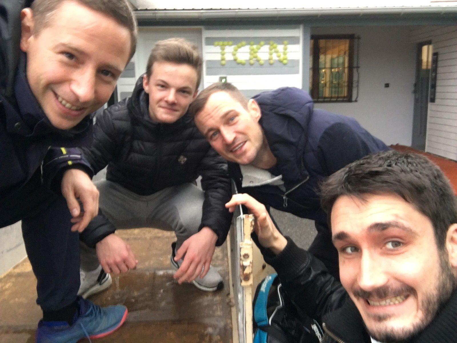 Equipe 2 : Julien, Nathan, Arnaud, Philou