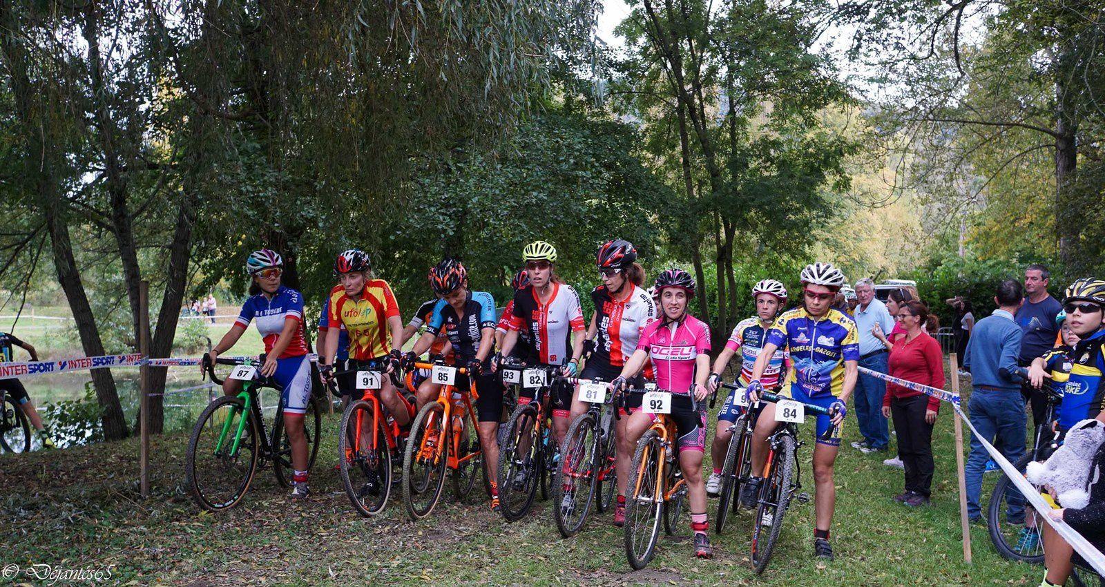 cyclo cross de Loures barousse :que du bonheur