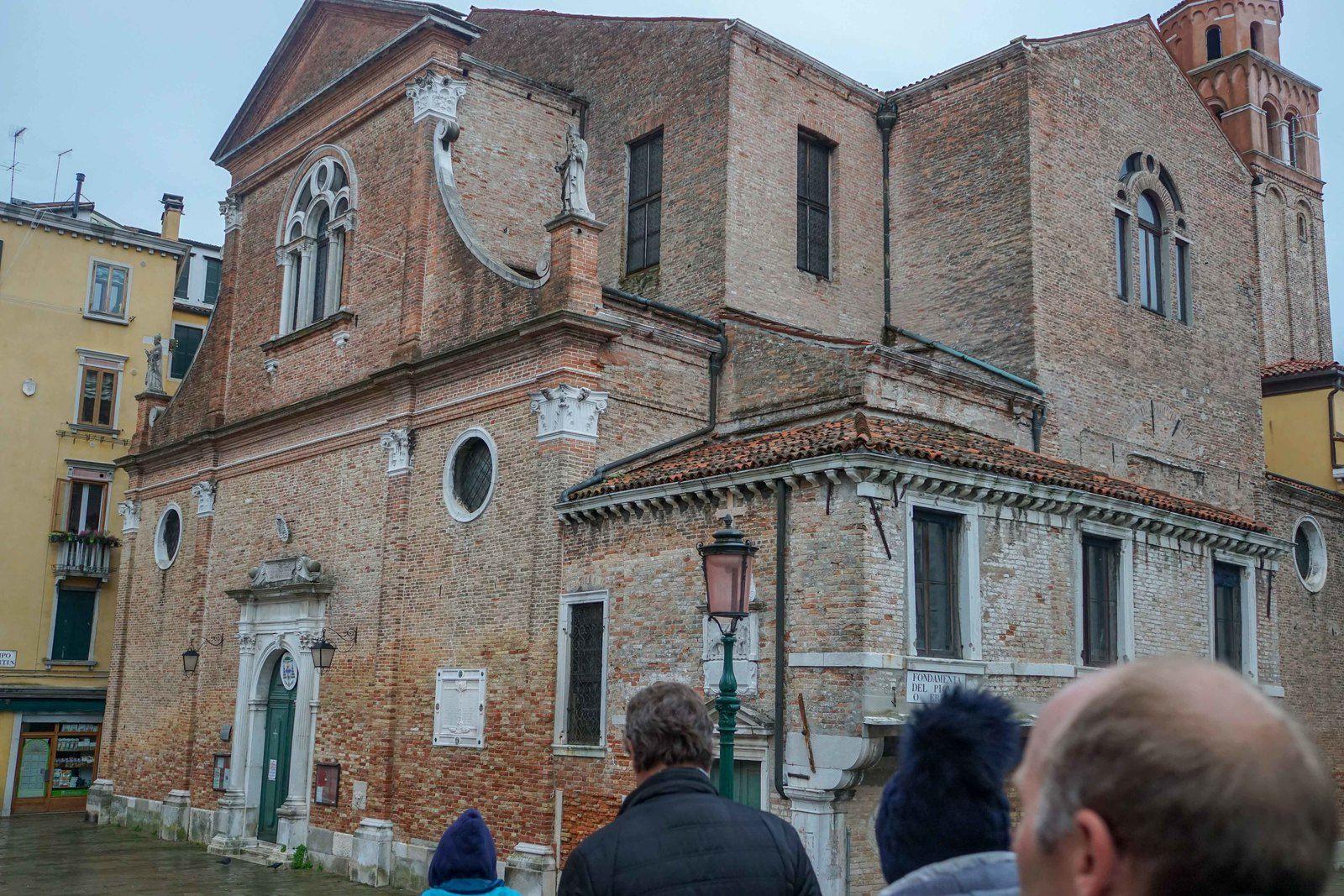 la visite de Venise