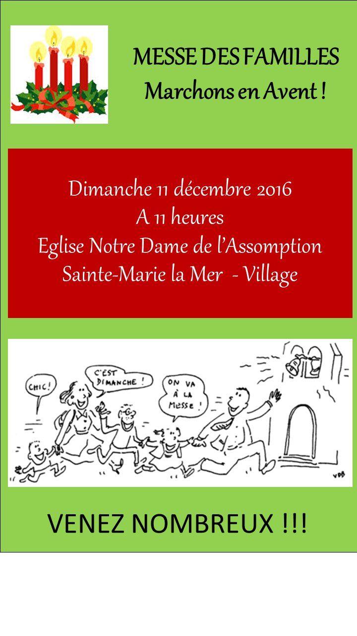 Messe des familles le 11 décembre 2016