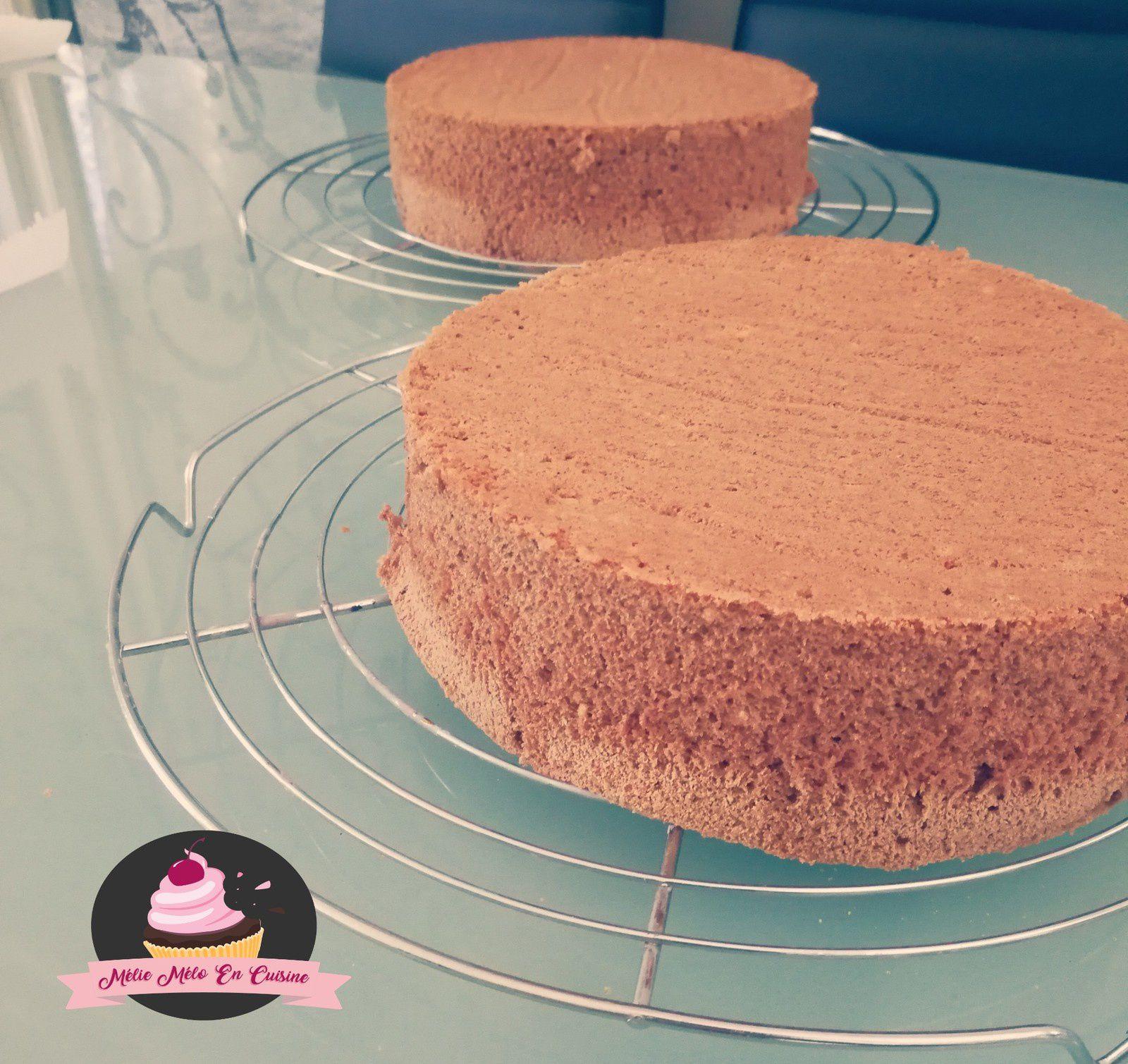 layer cake façon foret noir ( avec ou sans thermomix )