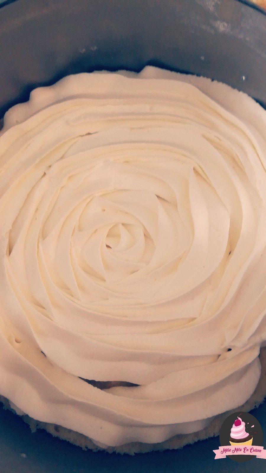 layer cake façon framboisier ( avec ou sans thermomix )
