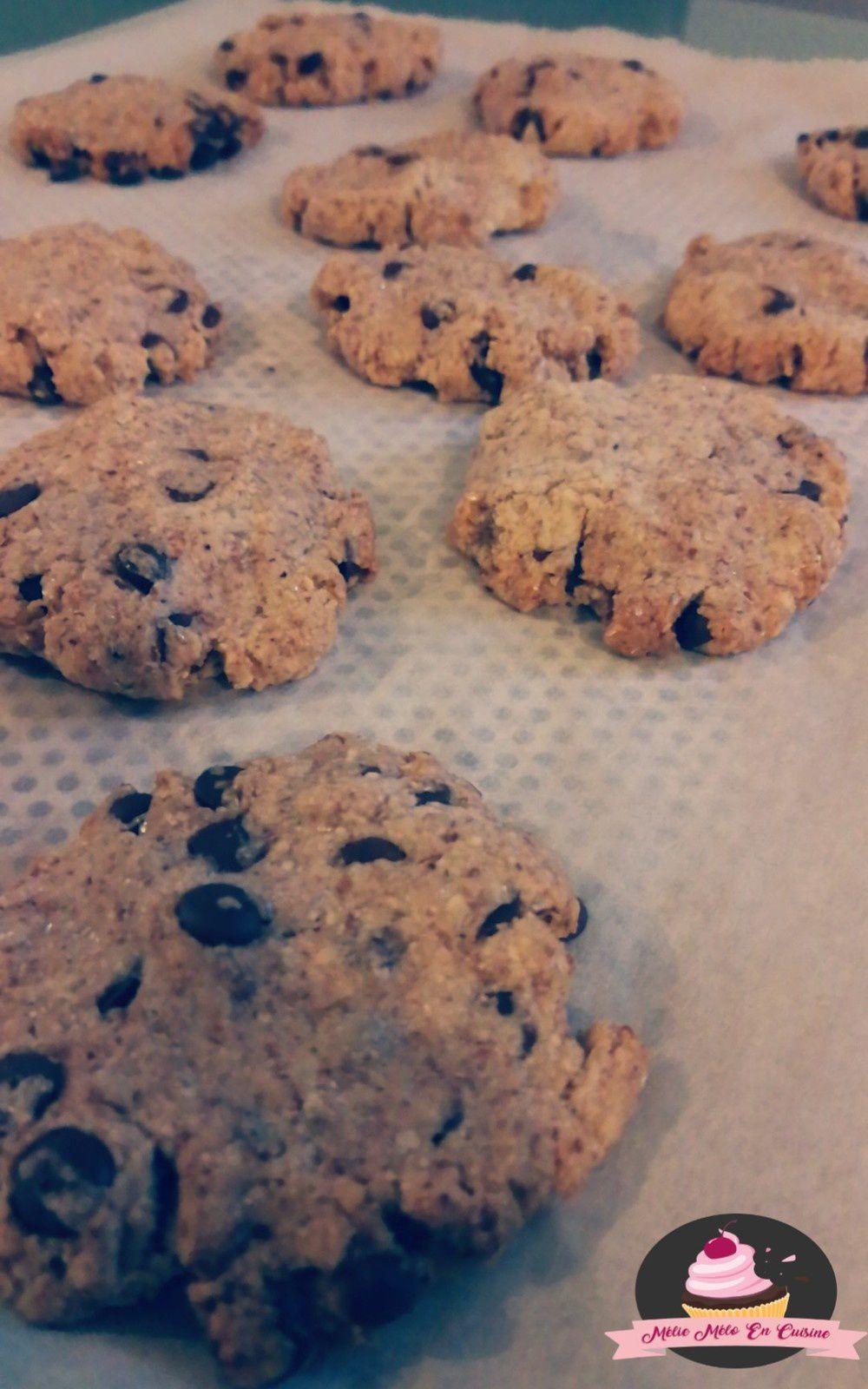 cookies moelleux à l'okara ( avec ou sans thermomix )
