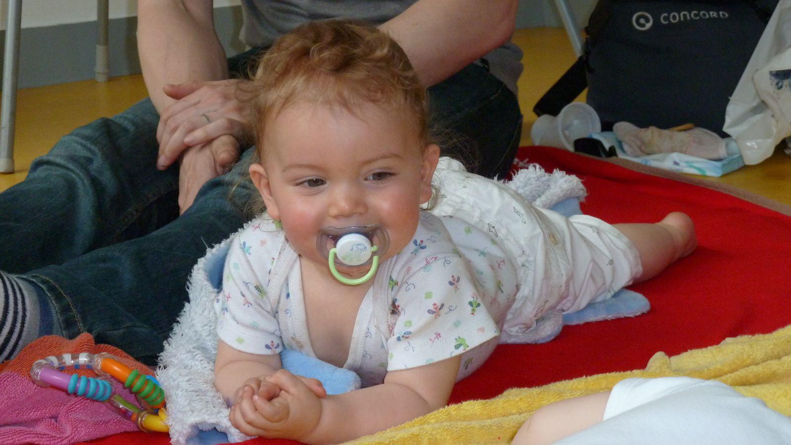 L'atelier de massage pour bébé en photos