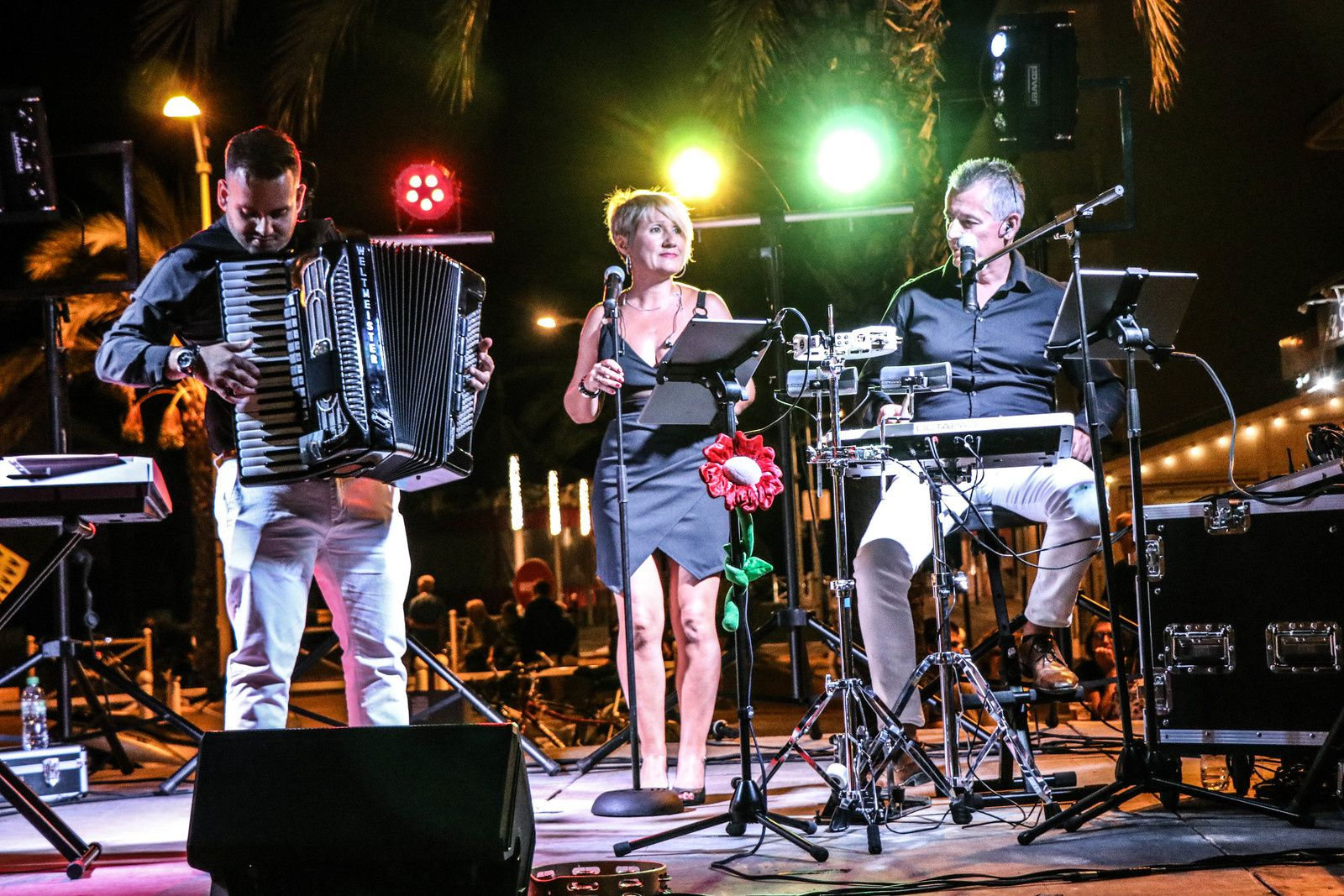 Orchestre musette à Millau
