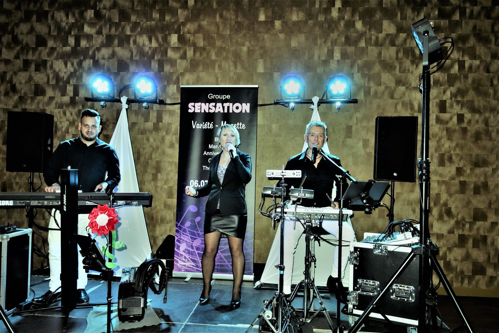 Groupe chanteur anniversaire Gard 30