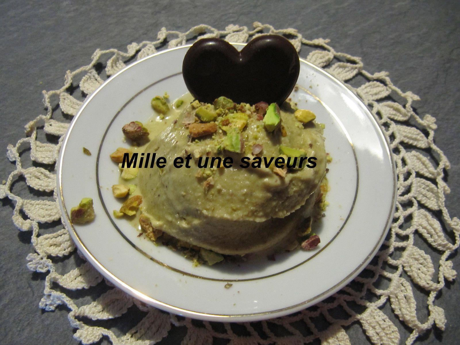 Recette Glace Pistache Sans Oeufs glace à la pistache sans sorbetière - mille et une saveurs