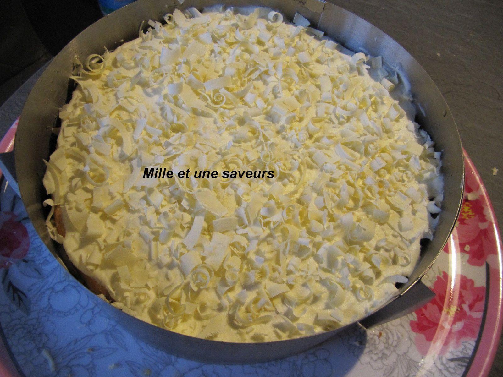 Gâteau ultra léger, l'Edelweiss