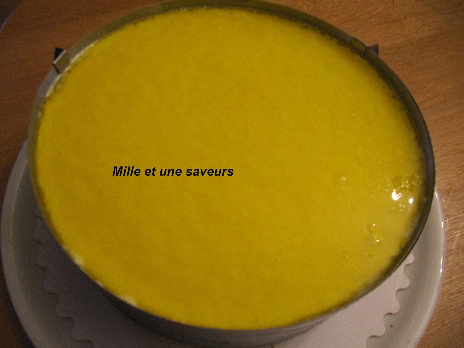 Douceur citron et framboises