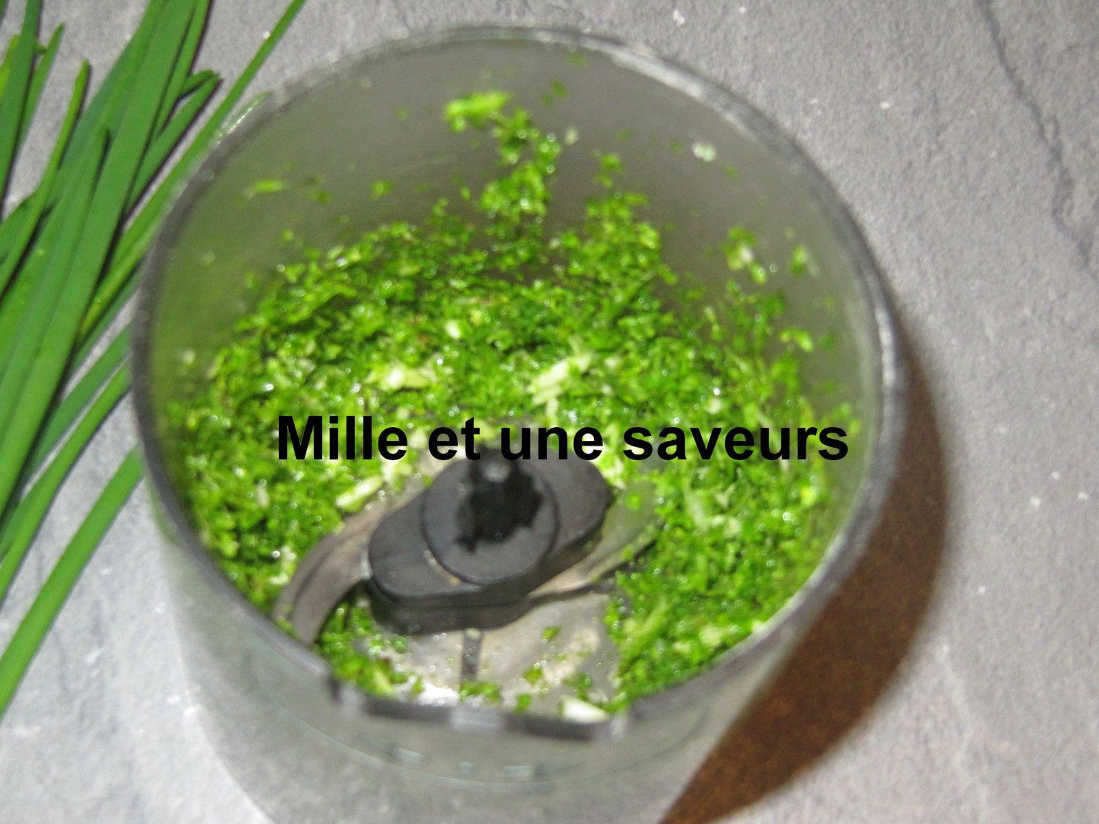 Fromage  végétal à la noix de cajoux et aux fines herbes