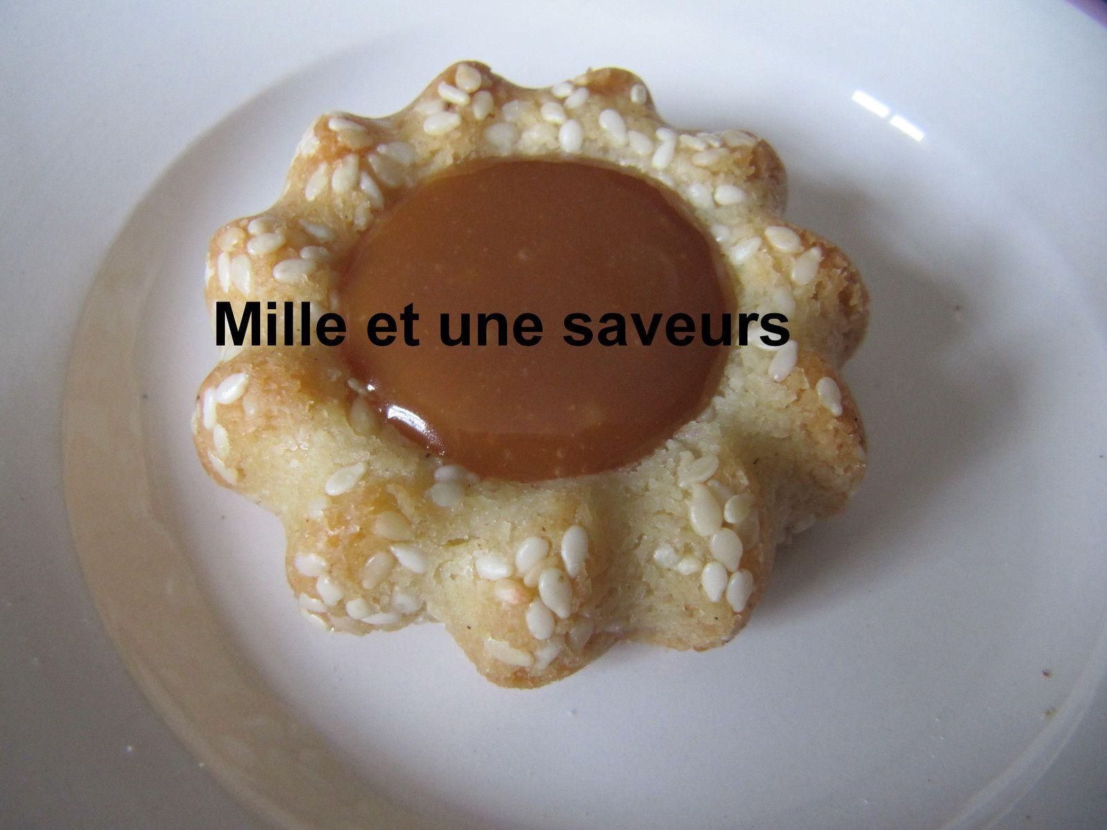 Petits fondants au caramel beurre salé