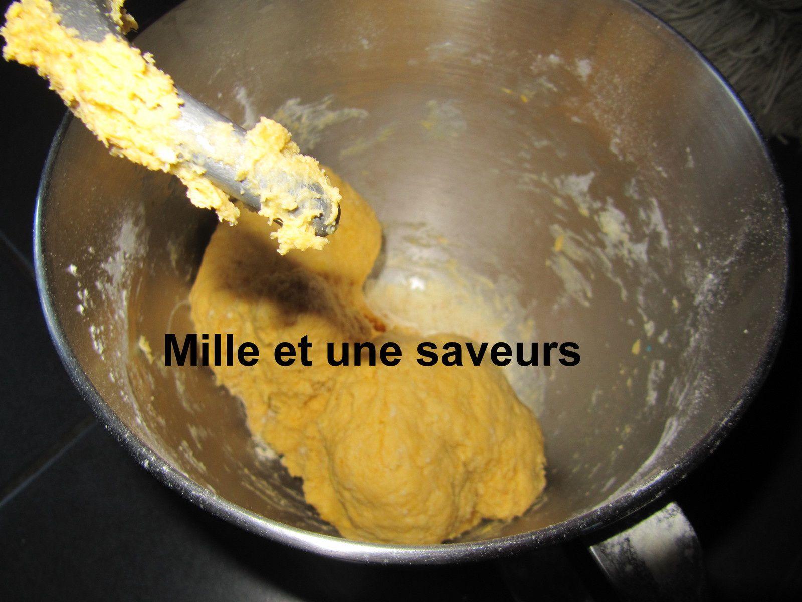 Brioche à la patate douce