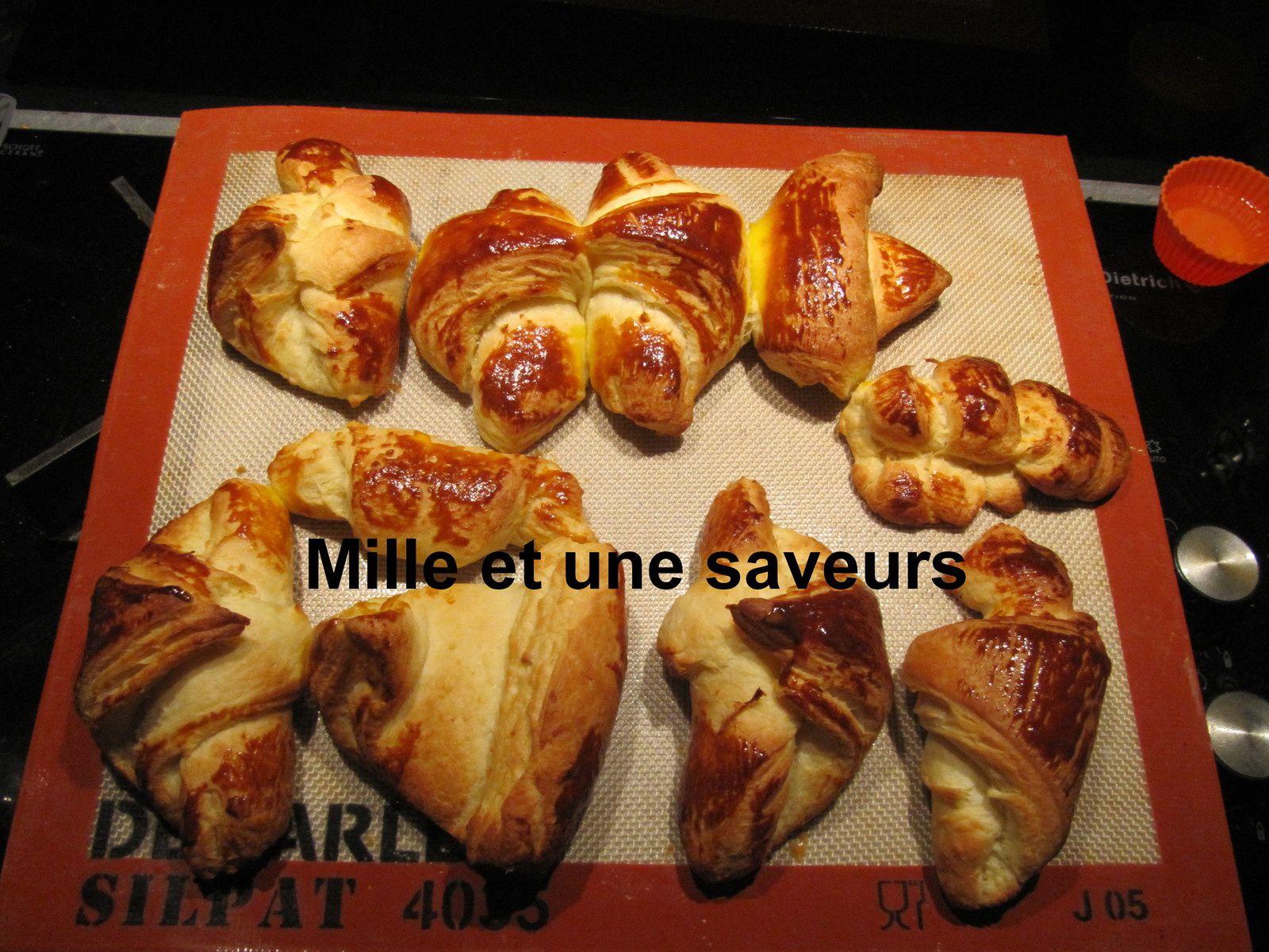 Pâte à couque pour viennoiserie feuilletée