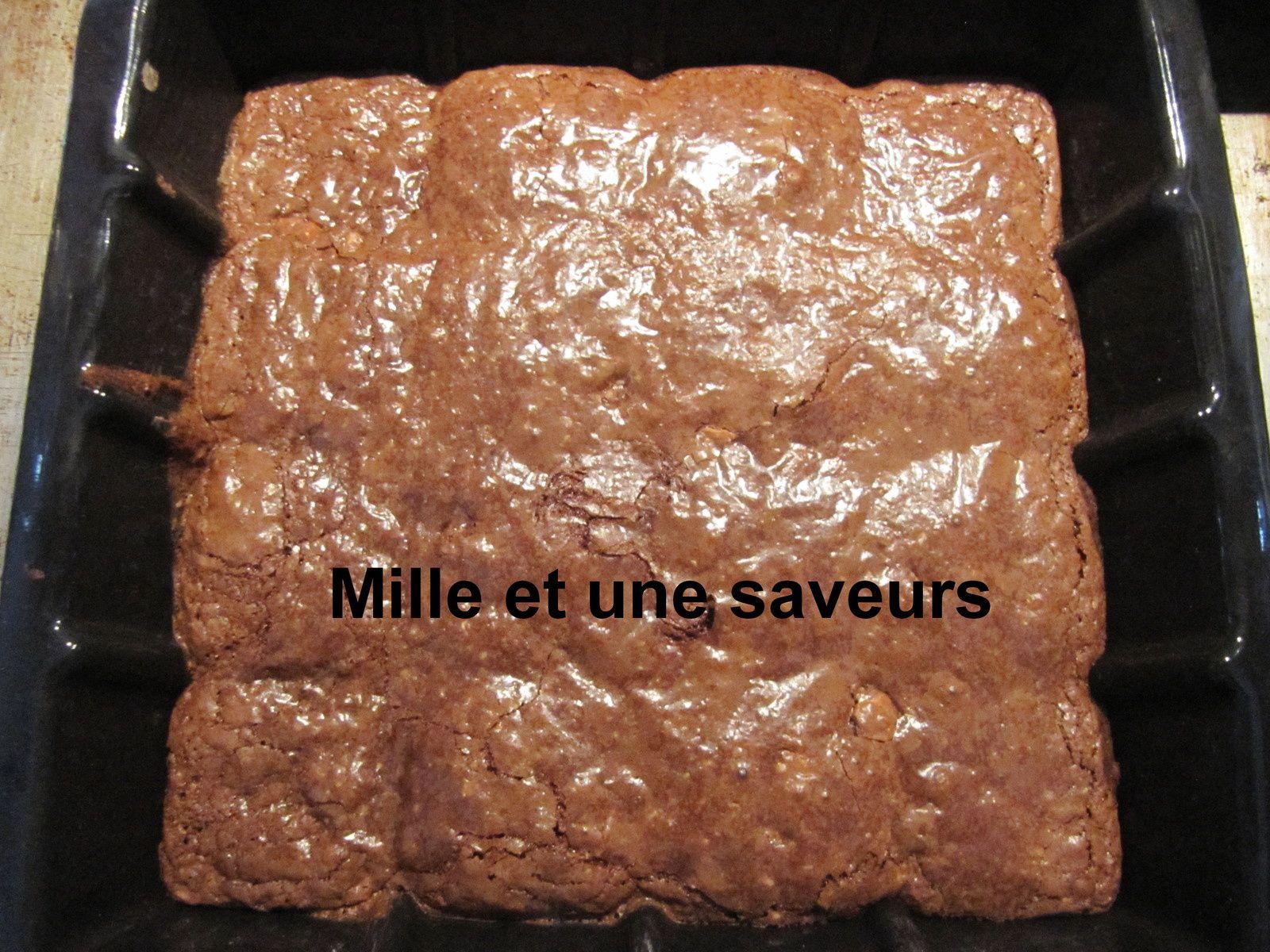 Bavarois spéculoos et biscuit chocolat noisette