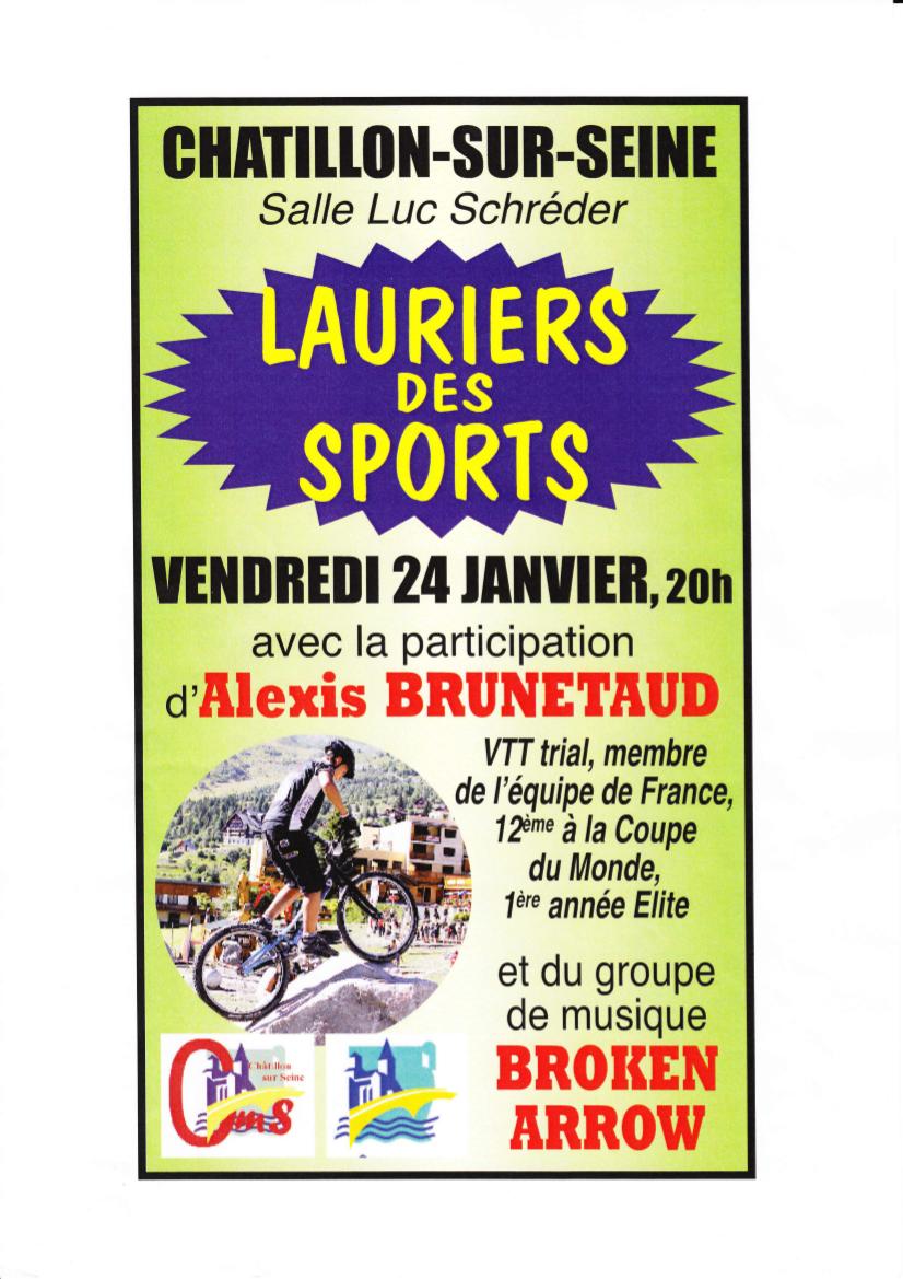 Lauriers du Sport 24 janvier 2014