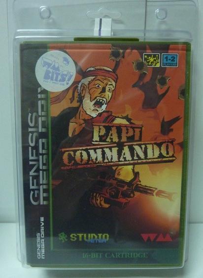 [CONCOURS] Gagnez Papi Commando sur Megadrive !