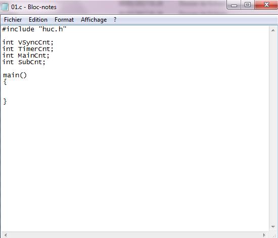 Coder sur PCEngine c'est facile ! [PART 1]