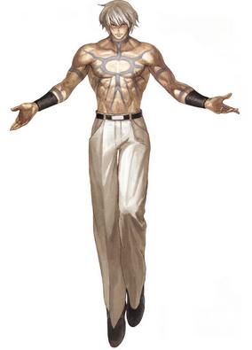 Orochi après s'être emparé du corps de (Jésus) Chris