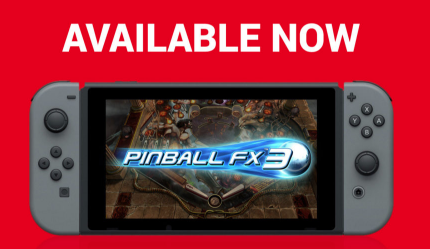 C'est Noël, 3 tables Pinball FX gratos sur Switch !