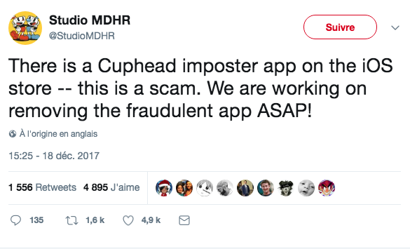 2 millions pour Cuphead... sans compter la version iPhone ;)